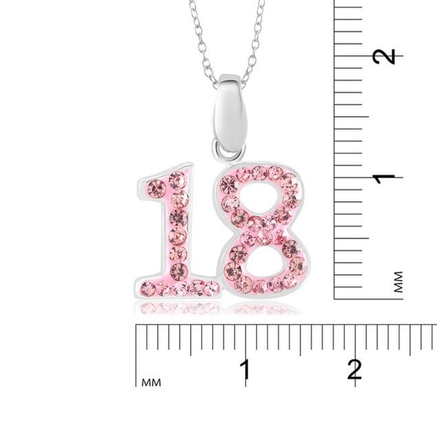 Crystal Novelty Fashion Necklace - 18
