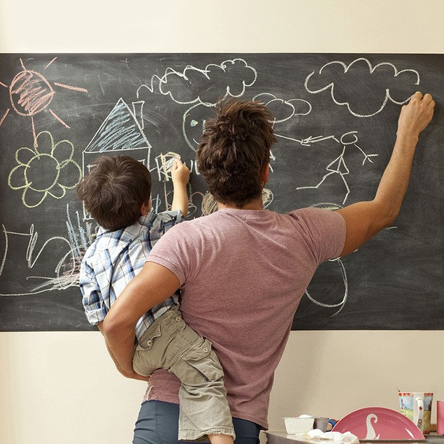 6-Foot Chalkboard or Whiteboard Wall Decal