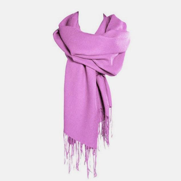 Lavish Wool & Silk Blend Pashmina Scarf