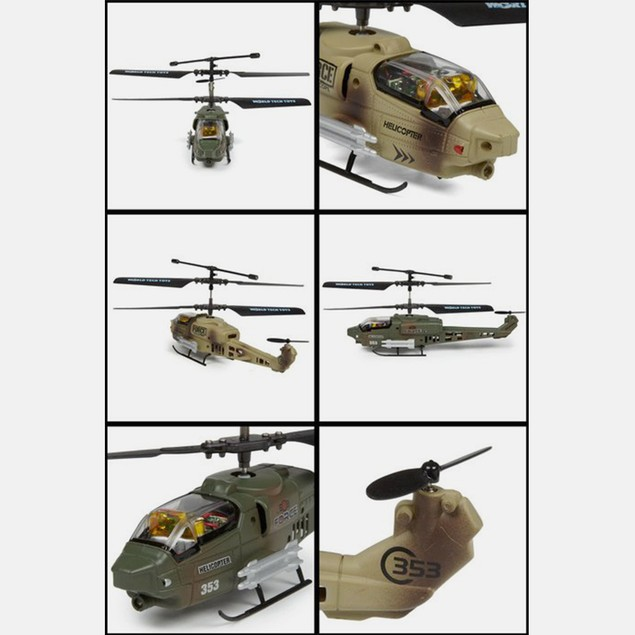 Nemesis Battle Copters Lazer Tag 3.5CH RC Heli 2-Pack