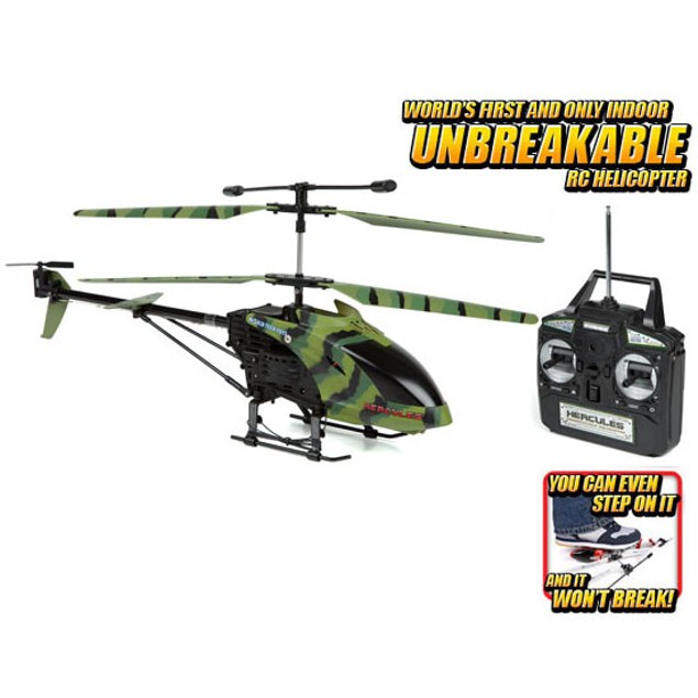 Camo Hercules Unbreakable 3.5CH RC Helicopter