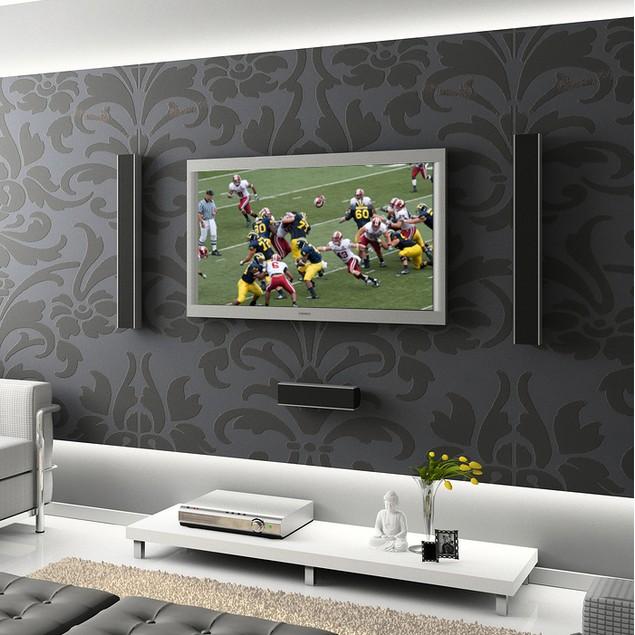 BlueMount Ultra Slim Steel Tilting TV Wall Mount