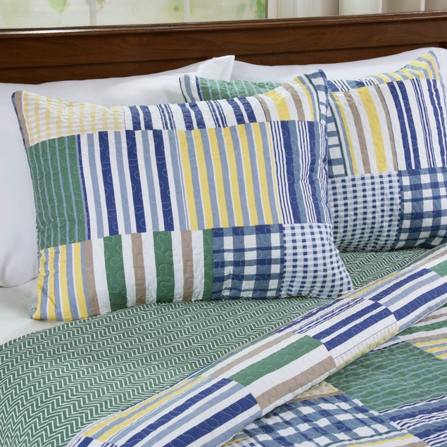 Lavish Home Lynsey 3 Piece Quilt Set