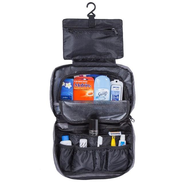 Suvelle Waterproof Nylon Hanging Toiletry Bag