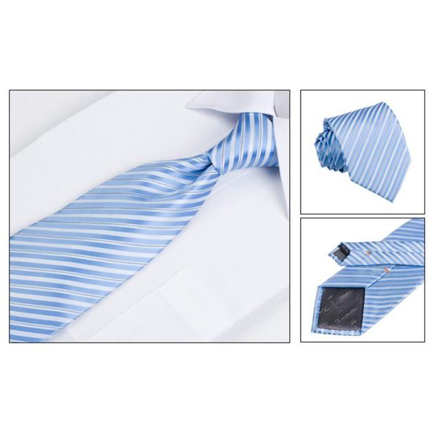 Men's Dress Suit Tie Set - Light Blue
