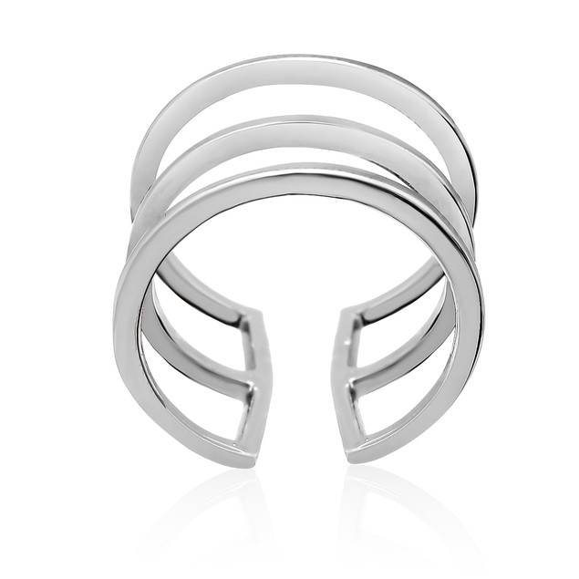 Tri Band Spacer Ring