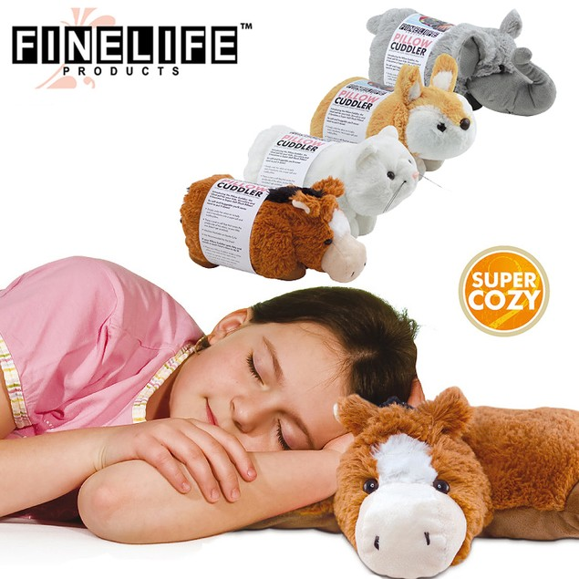 Pillow Cuddlers Plush Pet and Pillow