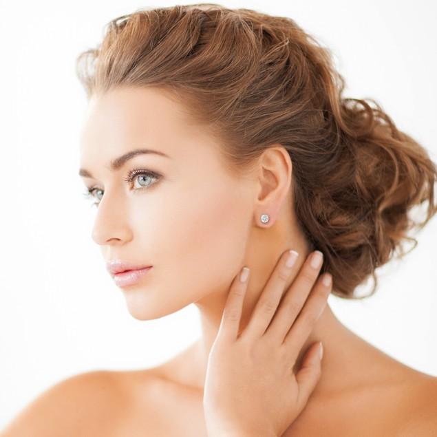 Diamond Stud Earrings 1.00cttw