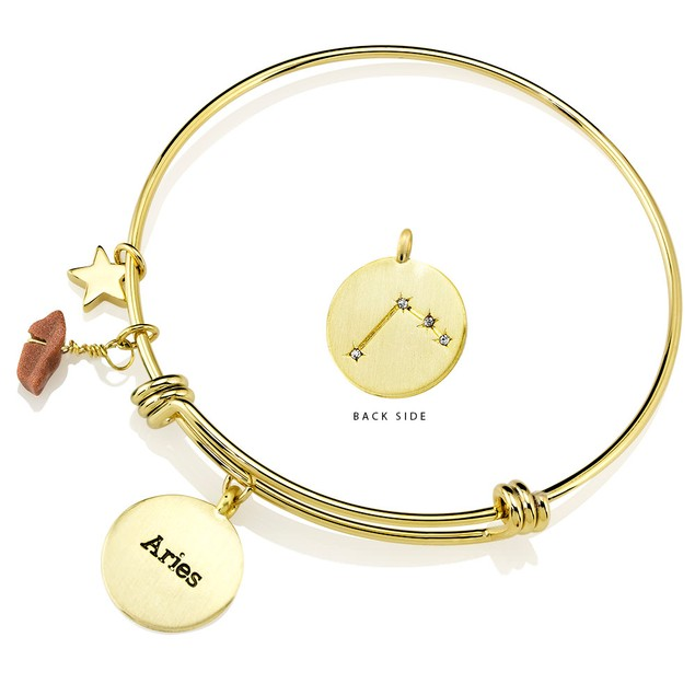 Designer Inspired Horoscope & Constellation Bangle