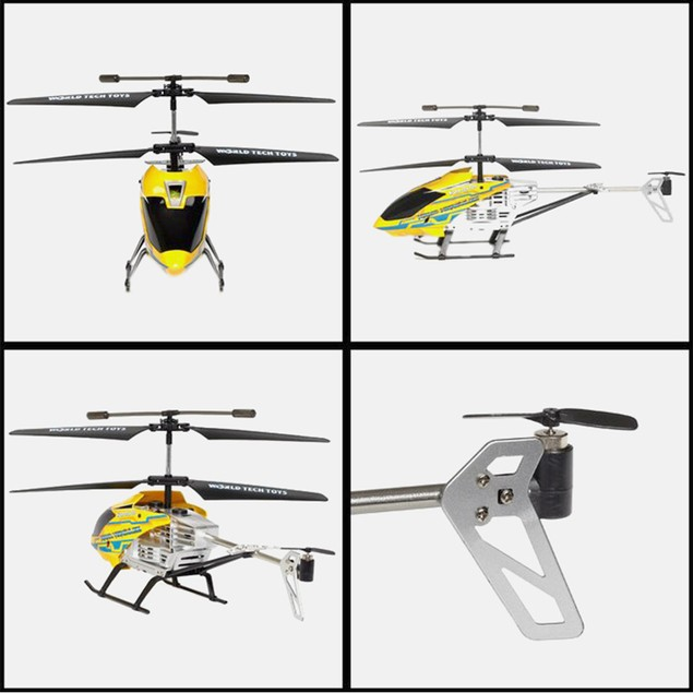 GYRO Nano Hercules Unbreakable 3.5CH Electric RTF RC Helicopter