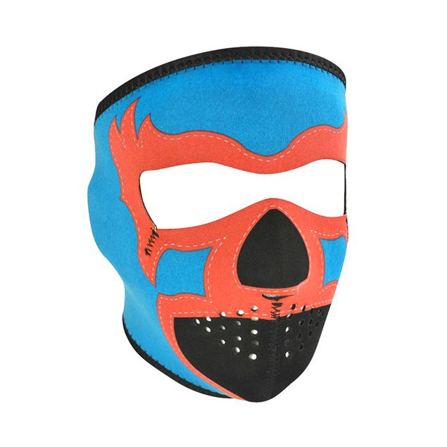 Lucha Libre Blue Neoprene Full Face Mask