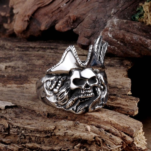 Dead Cowboy Stainless Steel Ring
