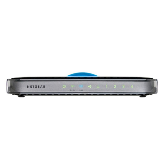 Netgear WNDR3400 Wireless N600 Wifi N Dual Band Router with USB Port, Integrated 4-Port Switch and 128-Bit Secure Encyption