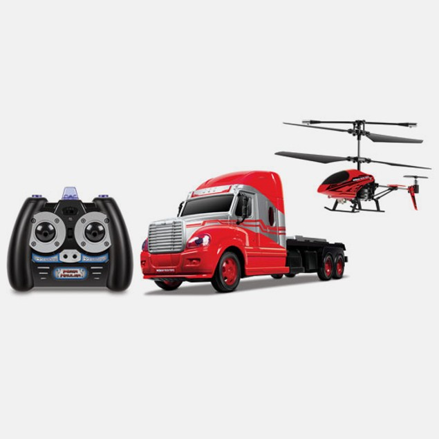 World Tech Toys MegaHauler 3.5CH Helicopter, Truck