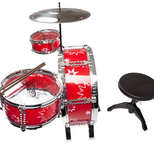 8 Piece Drum Set