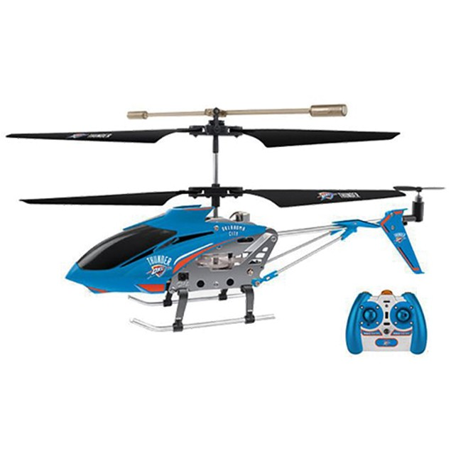 NBA Licensed Oklahoma City Thunder RC Helicopter