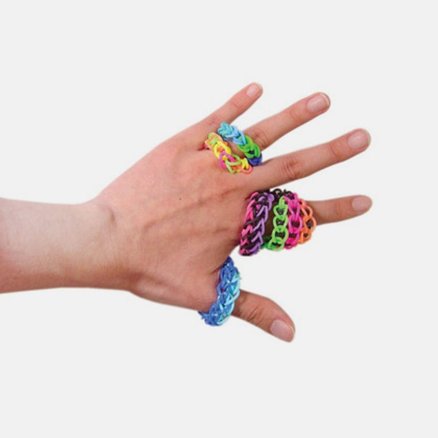 2400 Loom Bands with 96 S Clips & 8 Weaving Tools