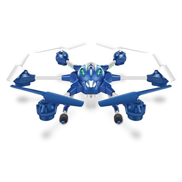 Nano Alpha 6-Rotor 2.4GHz 4.5CH Camera Spy Drone