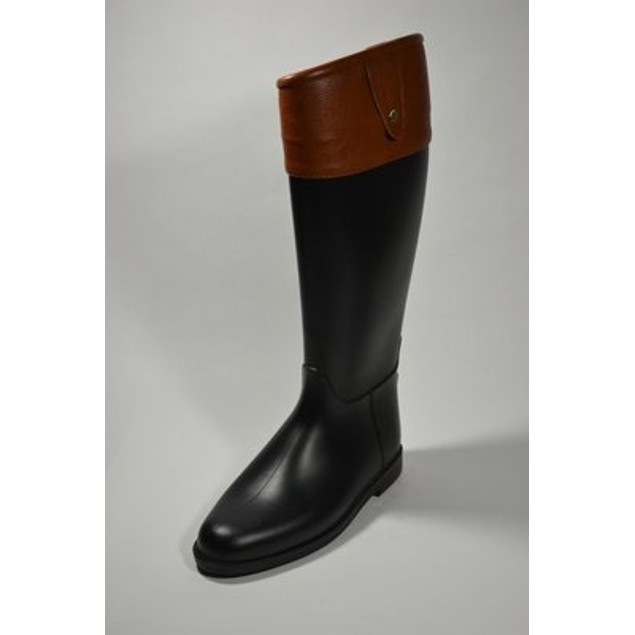 Equestrian Waterproof Fashion Boots - Cognac