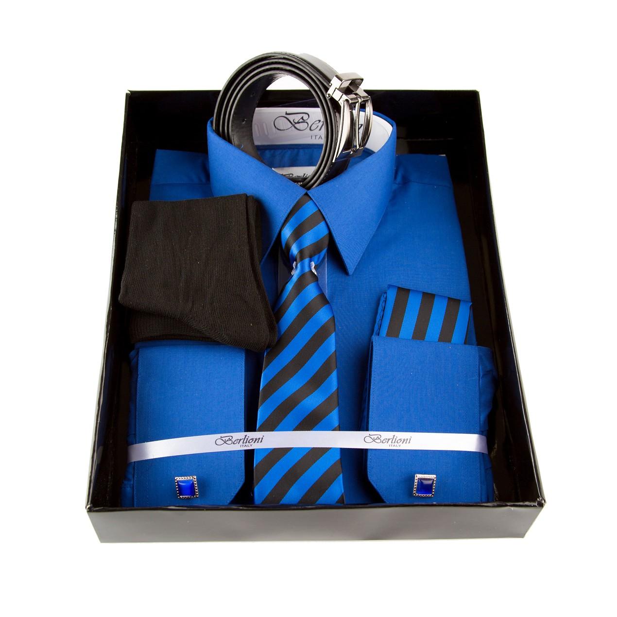 d8334fd7ca7 Berlioni Dress Shirt And Tie Set