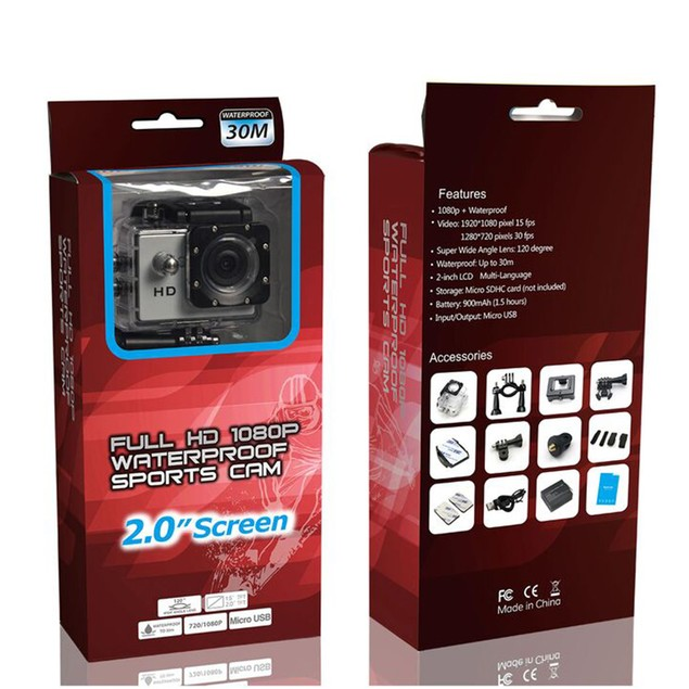 iPM Y6L HD 1080p Waterproof Sports Action Camera