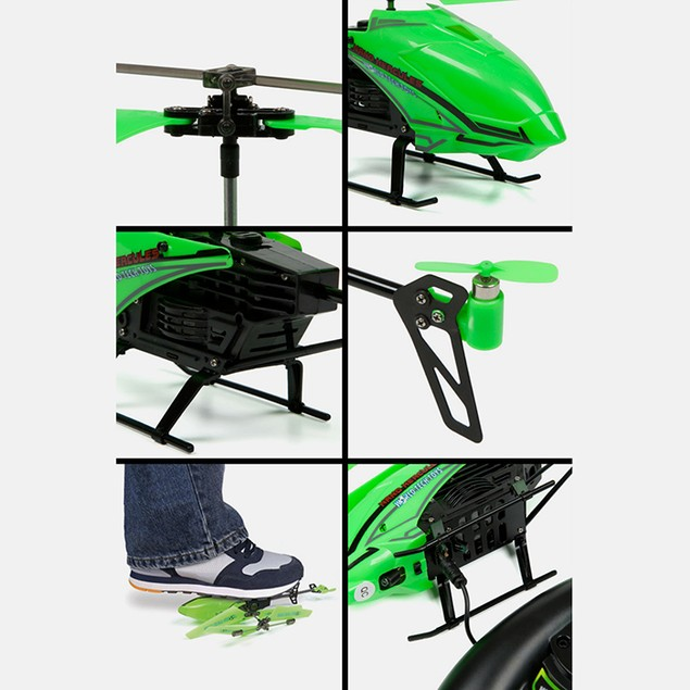 Glow in the Dark Phantom 3.5CH IR RC Helicopter