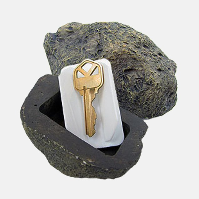 Hide A Key Realistic Rock Outdoor Key Holder