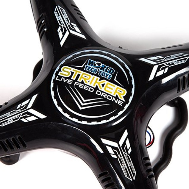 Striker Live Feed WiFi 2.4GHz 4.5CH RC Camera Spy Drone