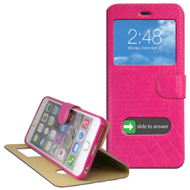 2-Pack: Thin Dual View Case for iPhone 6 Plus