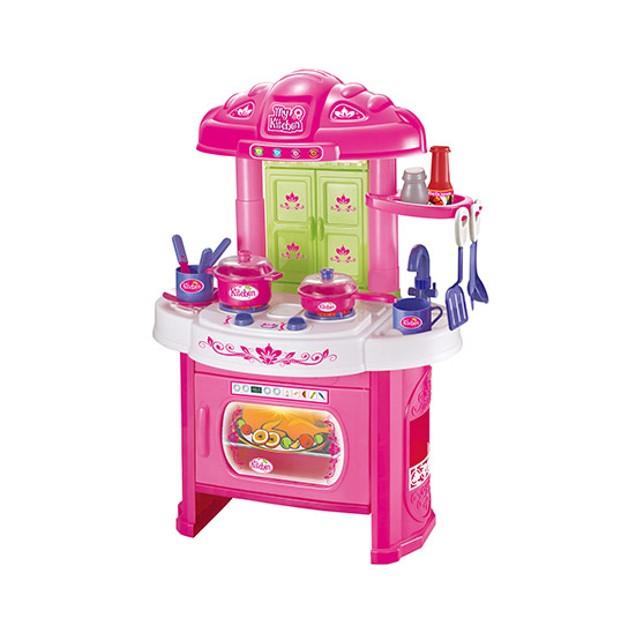 Glamor Girlz My Kitchen 16 Piece Playset with Light and Sound