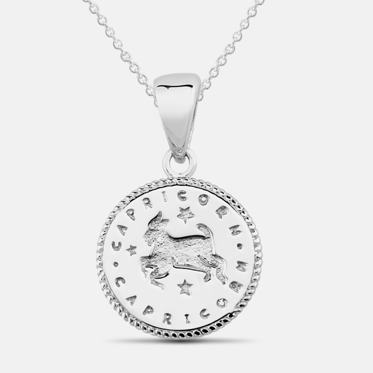 a1fed98cb Tiffany Inspired Horoscope Necklace - Capricorn. Tanga Featured Deal