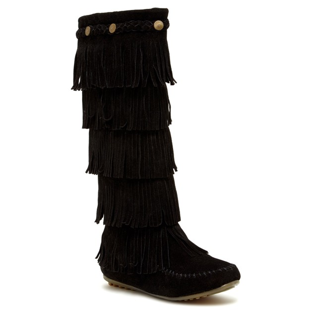Shoes Of Soul Women S Layer Fringe Boots