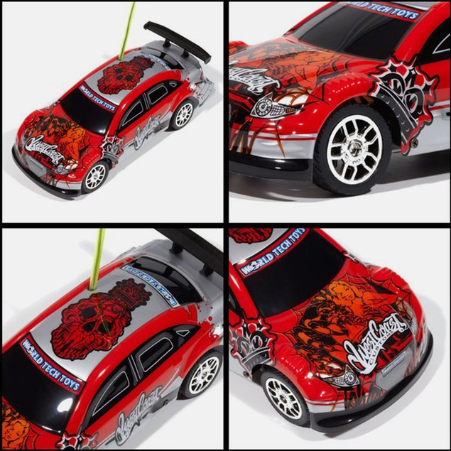 Licensed West Coast Customs Red Tricked Out X-Ryd