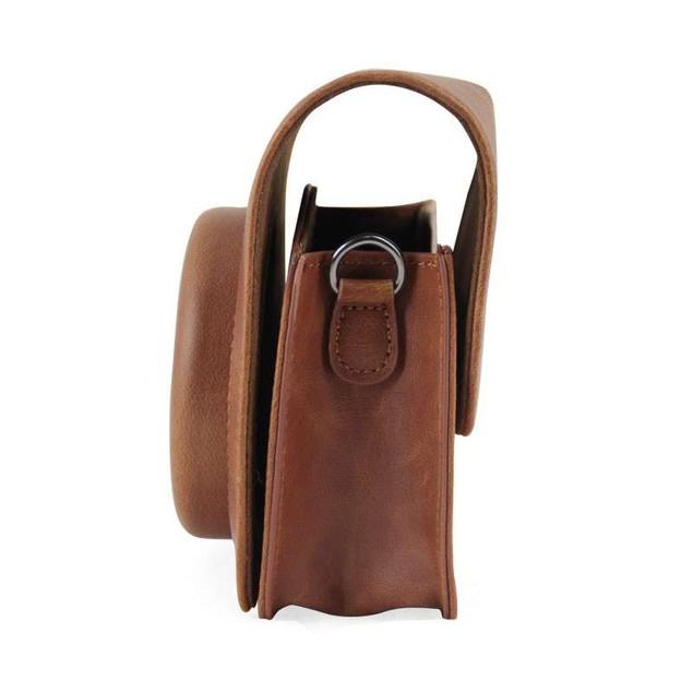 PU Leather Camera Case Bag Holder For Fuji FUJIFILM Instax Mini 90