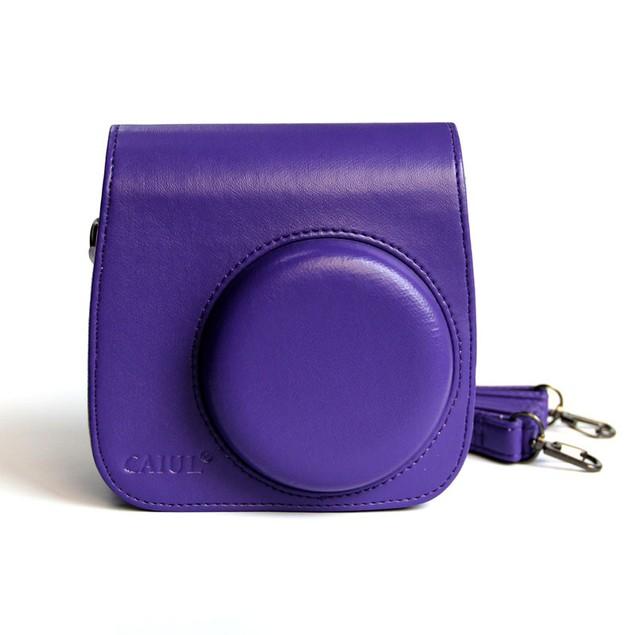 Classic PU Leather Camera Case Bag For FUJIFILM Instax Mini8 Mini8s