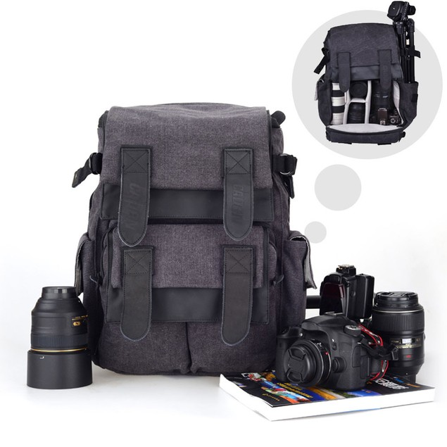 CADEN M5 DSLR SLR Camera Bag Backpack For Canon